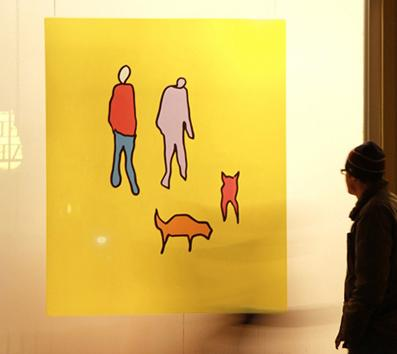 Dog-Walkers-Matt-Falle-Art-exhibit